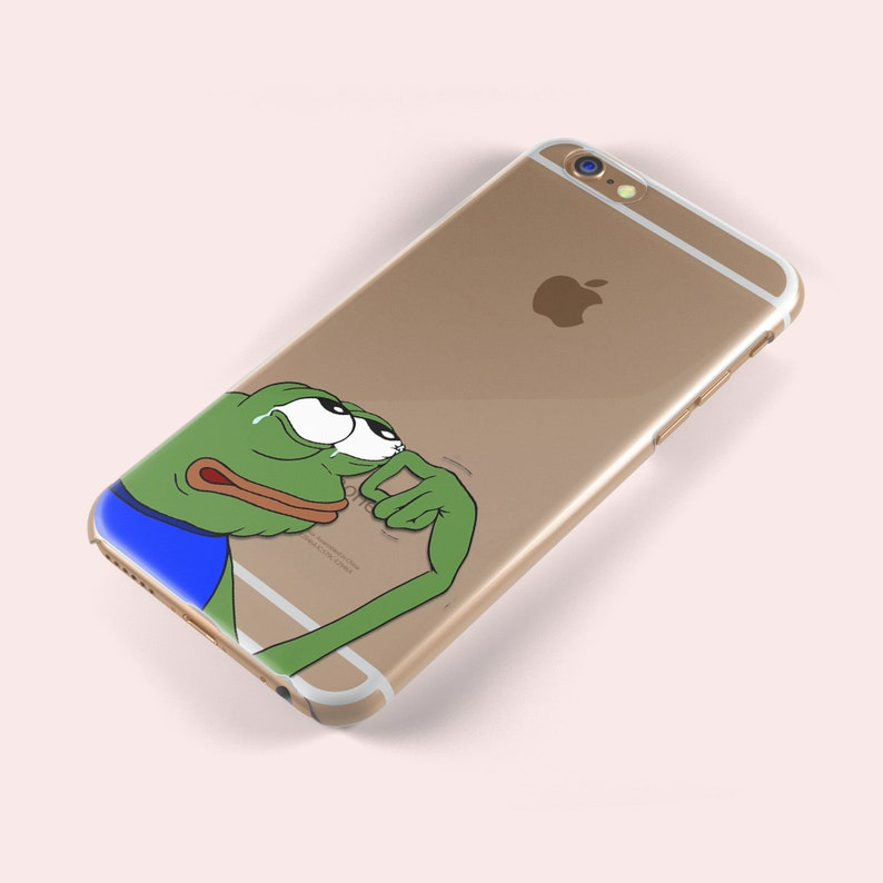 the latest 4b32b a5a34 Crying Pepe the Frog Reddit Dank iphone X 5 S SE 6 6S Plus 7 8 Samsung  Galaxy S5 S6 S7 S8 S9 Edge TPU Soft Silicone Skin Gel Case