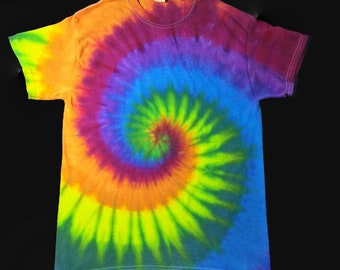 02bf8a68891 HEART   SOUL RAINBOW Tie-Dye Adult T-Shirt