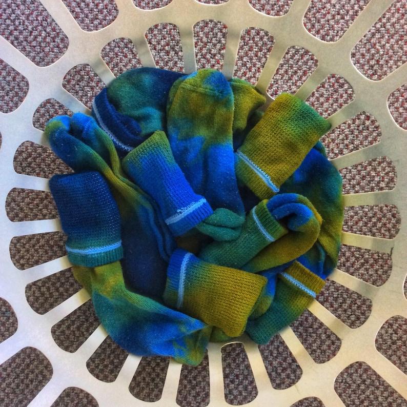 Earth /& Sky Tie-Dye Adult Socks