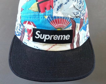 FW08 SUPREME balloon lodge hat adjustable made in usa camp cap five panel  polo stadium 1992 1994 vintage supreme hat rl92 snow beach alpine 247ed3f06e9