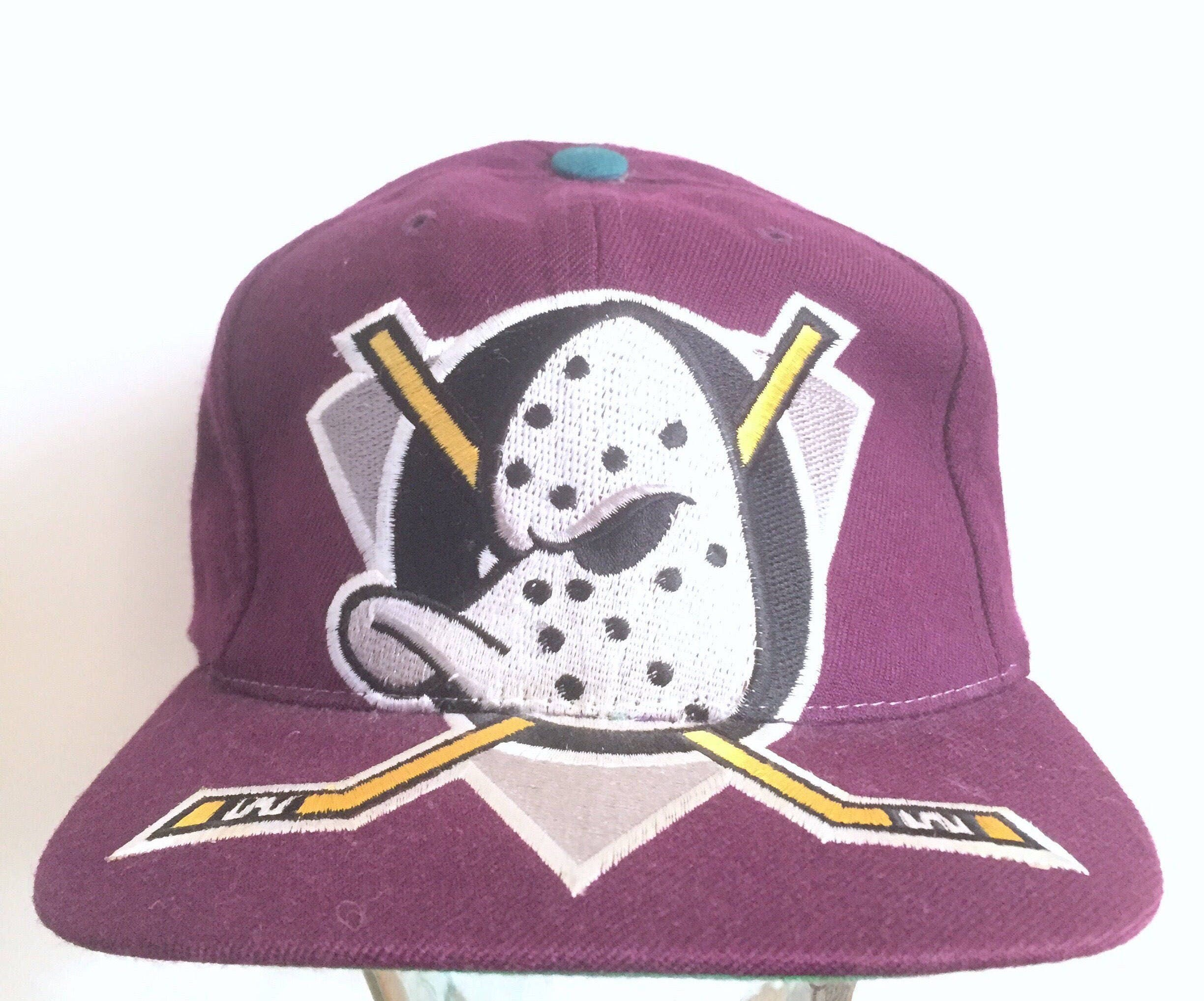 cc0dae7ab60 MIGHTY DUCKS adjustable hat american needle 90s disney starter
