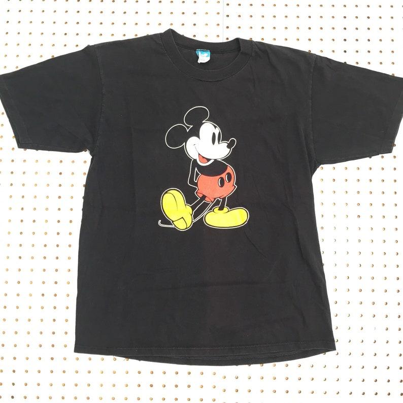 3d6acabc8 80s MICKEY MOUSE vintage t shirt 70s walt disney united | Etsy