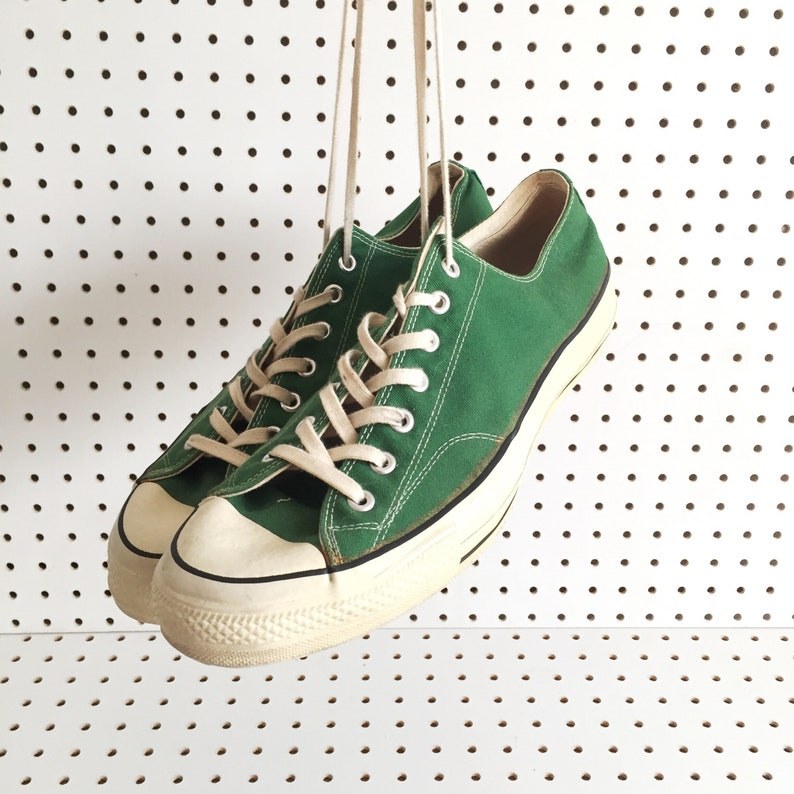 6c862f021a 80s CONVERSE made in usa all star converse size 13.5 BIG chuck