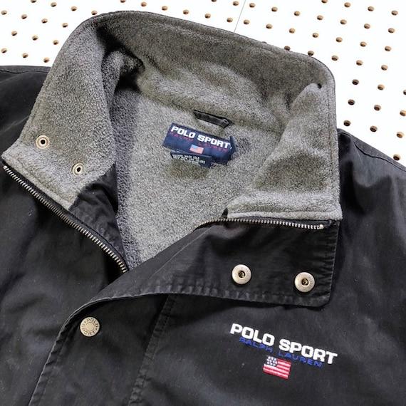 Ralph Xl Bis Sport Unten Reißverschluss Gefüttert Logo Jahrgang Winter 90er Buchstabieren Jahre Wintermantel Polo Jacke Lauren Fleece Bestickt 0N8ZwOXnPk