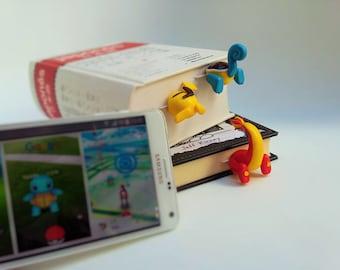 Pokemon GO bookmarks, bookmarks pikachu GO, bookmark Go, Charizard bookmark, charmeleon pokemon go planner accessories, Go bookmark planner