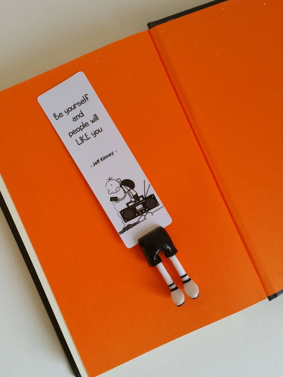 Diary of a wimpy kid bookmark greg heffley bookmark perfect etsy image 0 solutioingenieria Choice Image