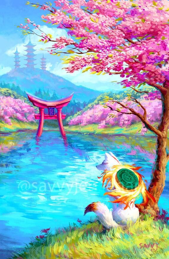 A4 Print  /'Amaterasu/'