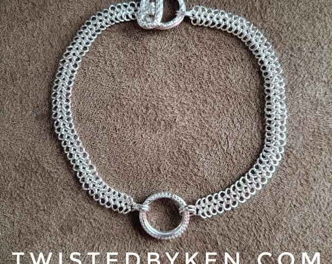 Handmade 4in1 24ga European Weave Sterling Silver Bracelet, Handmade Findings 7.5in Free Shipping. Sizing On Request TwistedByKen TBK013121