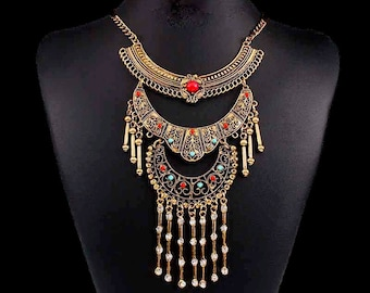 Ethnic necklace Indies inspirations