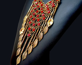 """Bohemian necklace Ethnic with the inspirations """"Persian"""""""