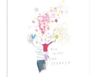 GIRL - You make me sparkle
