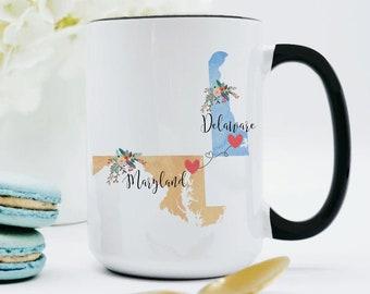 Delaware Mug Etsy