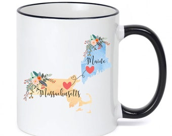 Maine Coffee Cup Etsy