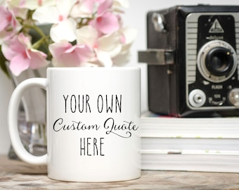 Personalized Teacher Gift / Custom Mug / Custom Teacher Gift / Custom Teacher Mug / 11 or 15 oz.