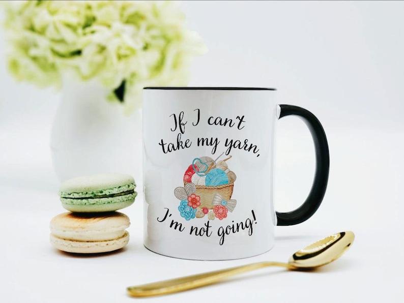 Crochet Mug / Crochet Gifts / Yarn Mug / Crochet Coffee Mug / image 0