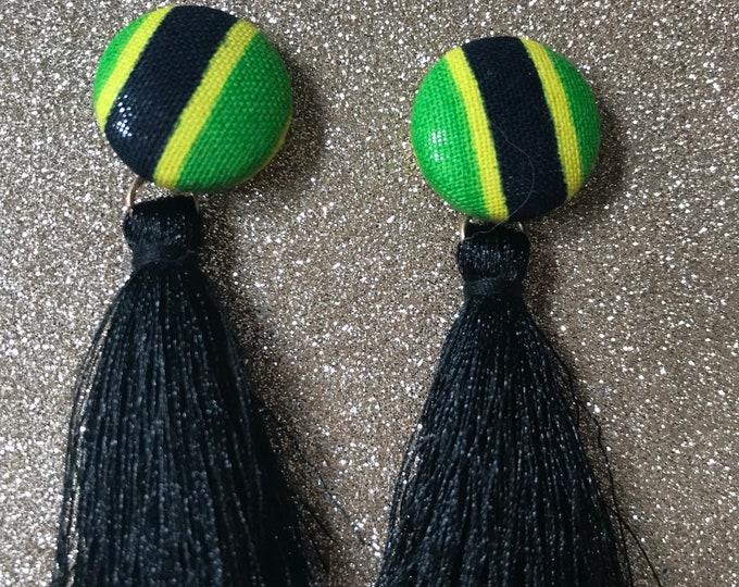 Featured listing image: Island Vibes Tassel Earring