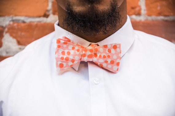 Rainbow Row Bow Tie