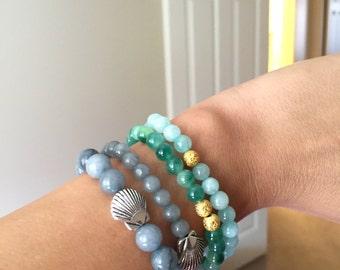 Natural Gemstone Spiritual Bead Bracelet