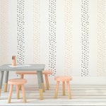 Candy Dots Allover Wall Stencil