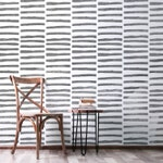 Double Stripe Allover Wall Stencil