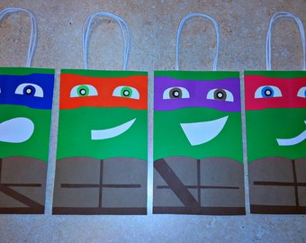 Ninja Turtles Goody Bags