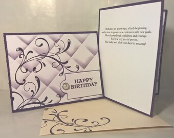 Textured Birthday Card