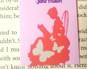 Segnalibro magnetico di Jane Austen