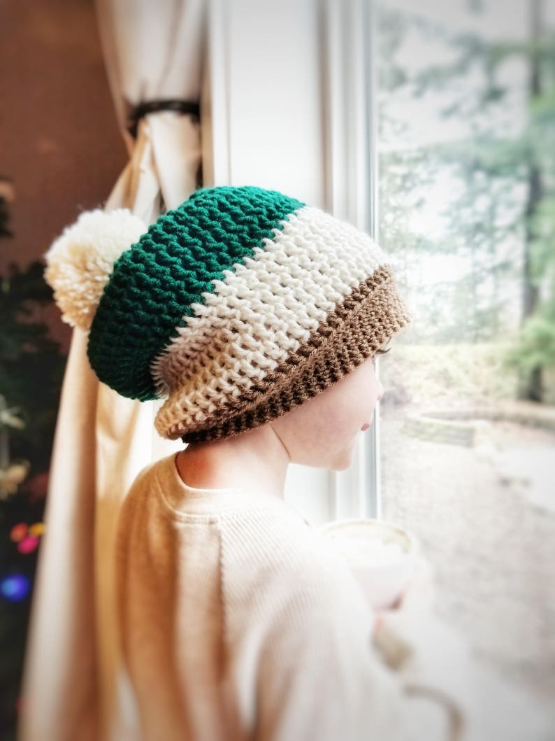 63b42abc62a Kids Slouchy Beanie Crochet Gift for Her Birthday Gift