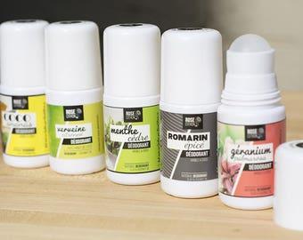Liquid deodorant without aluminum