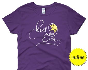 Best Day Ever Shirt | Ladies' short sleeve | Mom Shirt | Disney bride shirt | Rapunzel shirt | Punzie shirt | Best Day Ever