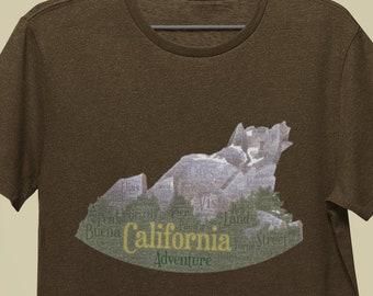California Adventure / Grizzly Peak tri-blend t-shirt   Disney