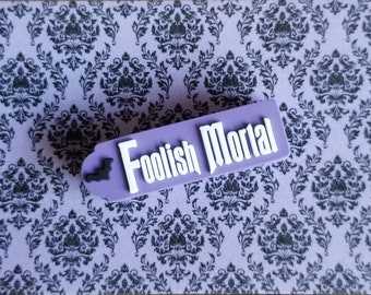 FOOLISH MORTAL Slider for use with Disney Magic Bands   soft PVC   MagicBand fastener charm accessory