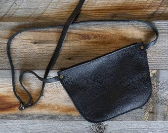 Leather Fanny Belt ~ Moto Fanny Pack ~  Music Festival Belt ~ Travel Money Belt ~ Crossbody Purse/Bag ~ Leather Bum Bag ~ Leather Fanny Pack