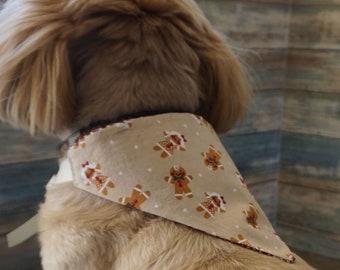 Christmas / NYE Dog Bandanas / Doggie Scarves / Xmas  Dog Neck Decoration / Puppy Bandanas / Holiday Dog Bandanas / Dog Neckwear