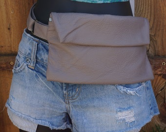 Leather Fanny Belts