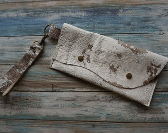 Leather Document Holder,  Leather Clutch Travel Wallet,  Leather Purse, Leather Clutch, Everyday Clutch, Leather Clutch, Raw Leather Clutch