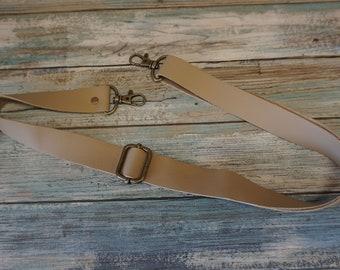 Leather Accessory Strap ~ Cross Body Strap ~ Leather Shoulder Strap ~ Add a Leather Strap to Purse ~ Removable Leather Strap
