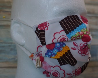Spring Holidays Washable Handmade Expandable Face Mask for Children / Dust Mask / Face Shield / Do Not touch your face mask