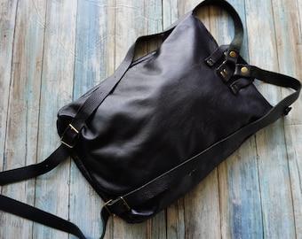 Genuine Leather Back Pack, Back to School Bag, Travel Back Pack, Computer Back Pack