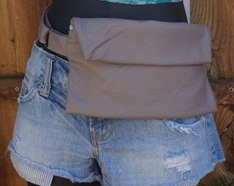 Leather Fanny Belt ~ Fanny Pack ~  Music Festival Belt ~ Travel Money Belt ~ Concert Belt ~ Leather Bum Bag ~  Leather Fanny Pack