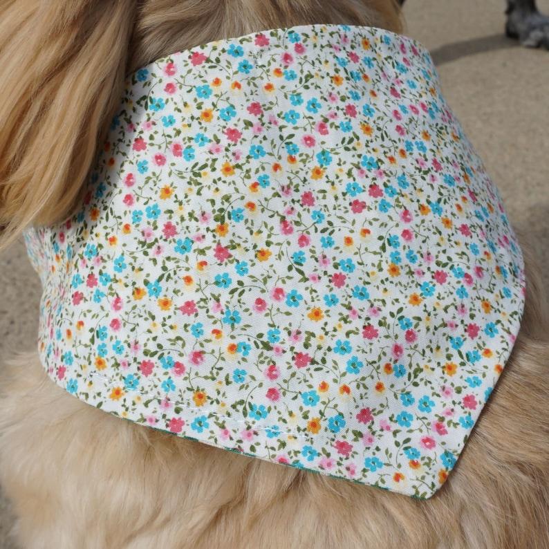 Patricks Day Dog Bandanas  Doggie Scarves  Shamrock Dog Neck Decoration  Puppy Bandanas  Dog Neckwear St