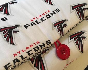 Atlanta Falcons NFL Football | Sports | Baby Travel Changing Pad, Diaper Mat, Baby Shower Gift