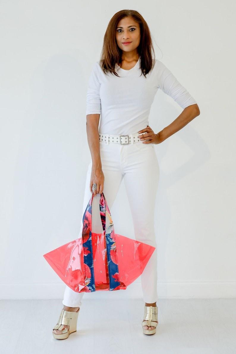 Rebeccas Bag PDF Pattern Beach Bag Carry-On Shoulder Bag image 0