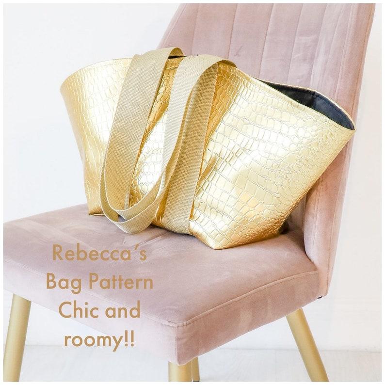 Rebeccas Bag PDF Pattern image 0