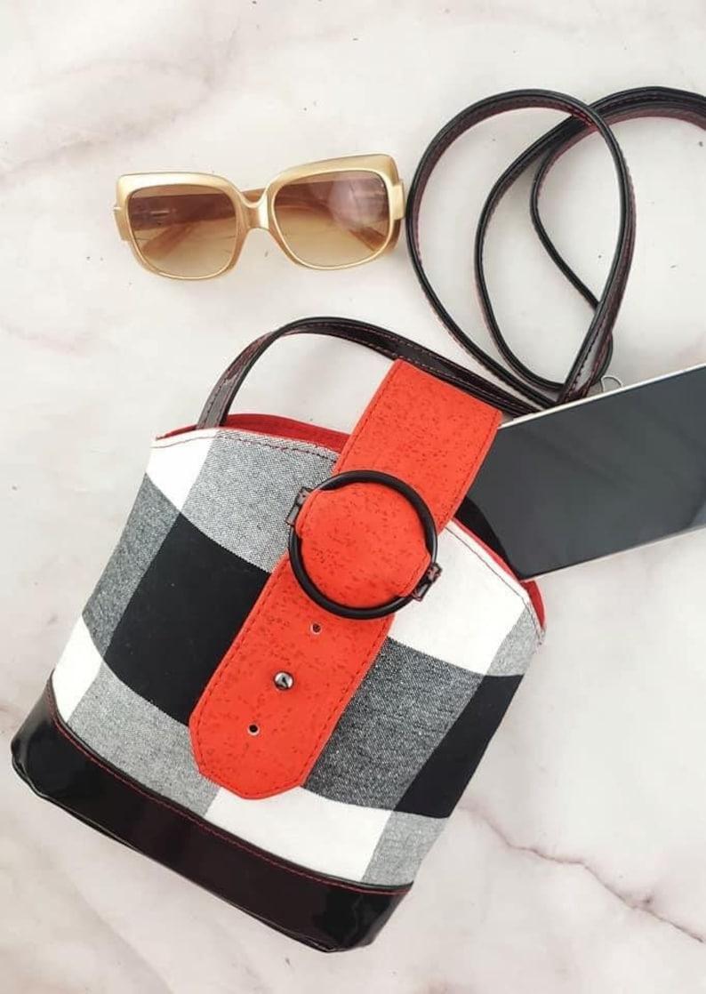 Posh  Bracelet Bag PDF Patterncrossbodybelt bag image 0