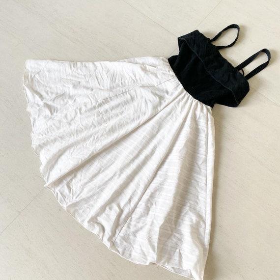 Cool Black and White Lilli Diamond Sundress - image 4