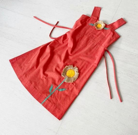 Cute Floral Applique Toni Todd Sundress