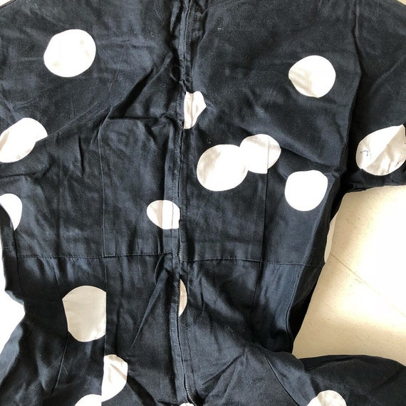 Pretty Polka Dot 50s Dress - image 3