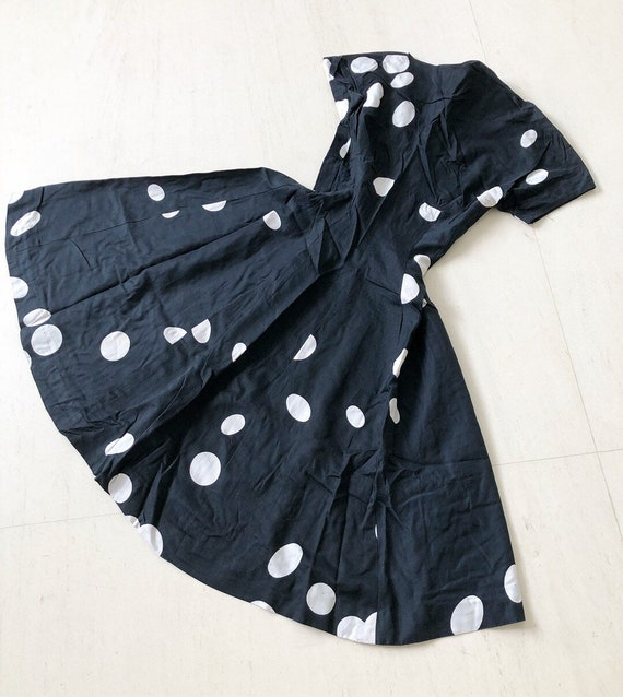 Pretty Polka Dot 50s Dress