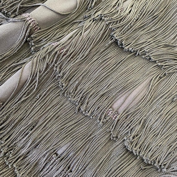 Vavavoom Fringed Gown - image 5